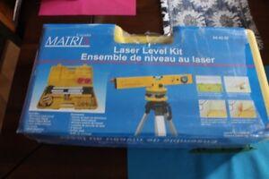 Laser Level Kit $50.00