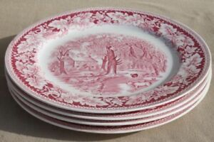 WANTED Red Transferware