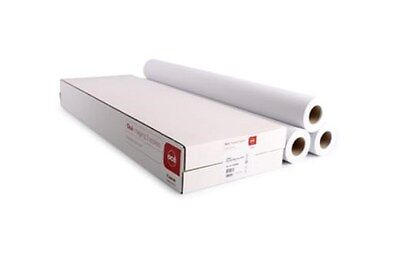 3 rolls Designjet 90g/m² Plotter Paper 841mm x 50mt A0 inc VAT & Delivery, used for sale  Shipping to United States