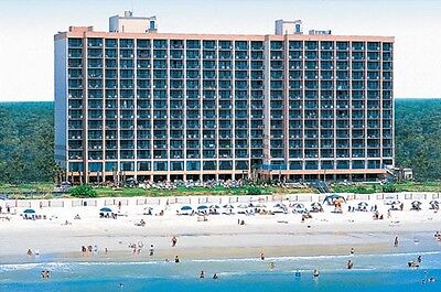 MYRTLE BEACH SC VACATION~OCEANFRONT HOTEL~3 NIGHTS AT SANDCASTLE 1 BDRM SUITE