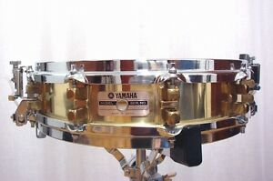Yamaha SD-493 Brass Piccolo Snare Drum