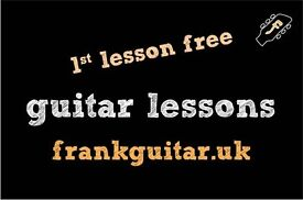 1st lesson free _ guitar teacher tutor lessons _ beginners welcome _ PRACTICE, KNOWLEDGE and FUN
