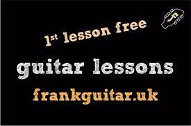 1st guitar lesson free _ beginners welcome _ guitar teacher tutor _ new pack lessons available