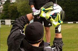 Adult Goalkeeper seeks Sunday men's football team in medway area