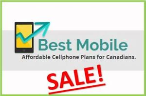SALE : Unlimited Talk, Text Canada wide + 8 GB LTE