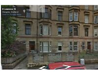 Large 2 double bedroom flat - with large kitchenette - near Glasgow uni - Off Byres Road