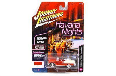 Johnny Lightning 1:64 Havana Nights 1955 Chevrolet Bel Air Convertible JLCP7103