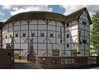 x2 Tickets to see Romeo & Juliet at Shakespeare's Globe - only £70: 10th June 2017