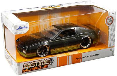 1985 Chevy Camaro Z28 Die-cast Car 1:24 Jada Toys 8 inch Black