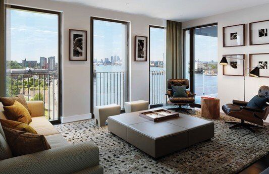 LUXURY BRAND NEW 1 BED COMPTON HOUSE ROYAL ARSENAL RIVERSIDE SE18 WOOLWICH PLUMSTEAD THAMES DOCKYARD