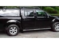 Nissan navara tekna 2.5dci 188bhp top spec sat nav leather double cab pick up 2011 year