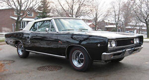 1968 Dodge Coronet R/T convert 1 of 431 built. numbers matching