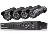 Full HD 1080p 4 camera cctv system - brand new in box