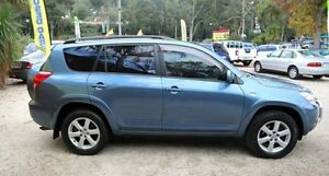 2006 Toyota RAV4 ACA33R Cruiser L Blue 4 Speed Automatic Wagon Upper Ferntree Gully Knox Area Preview
