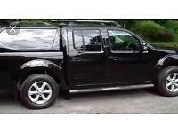 Nissan navara tekna 2.5dci 188bhp top spec sat nav leather double cab pick up 2011 year