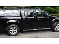 Nissan navara tekna 2.5dci 188bhp 6 speed top spec sat nav leather double cab pick up 2011 year