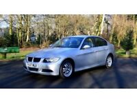 ***BMW 320D ES 4dr AUTO 2007 REG FULL SERVICE NEW MOT HPI CLEAR 3 SERIES DIESEL LOW MILES 2.0 SILVER