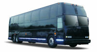 Coach bus transportation