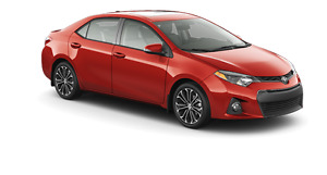 WANTED  2013 to 2016 Toyota Corolla Sedan