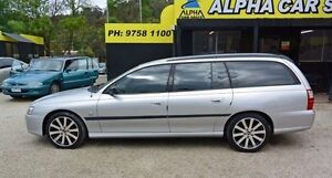 2004 Holden Commodore VZ Executive Silver 4 Speed Automatic Wagon Upper Ferntree Gully Knox Area Preview