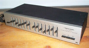 REALISTIC 7 BAND VINTAGE STEREO EQUALIZER MINT