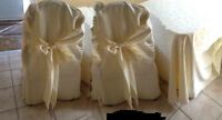 Banquet and wedding Chairs covers & table covers for sale!!!