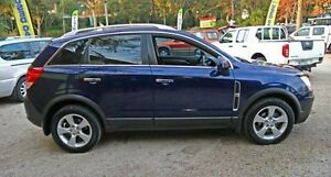 2008 Holden Captiva CG MY08 Maxx Blue 5 Speed Automatic Wagon Upper Ferntree Gully Knox Area Preview