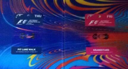 Abu Dhabi Formula One Thursday Pitlane walk Ticket