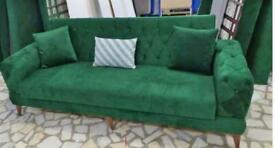 🤘🏻💓2020 BIG BUYS SALE TURKISH DESIGN FABRIC STORAGE SOFA BEDS SETTEE BLACK BROWN GREY SOFABED