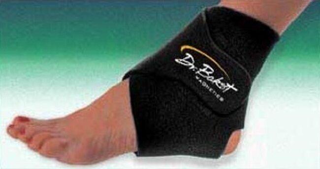 DR. BAKST Bakst Magnetic Ankle Support Brace W/ Adjustabl...