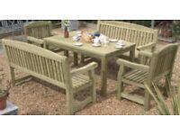Wooden Garden Dining Set