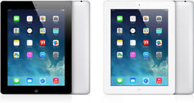BRAND NEW - Apple iPad 4th Gen 4G WiFi Retina display 16GB + Leather Case, Apple & Wireless Keyboard