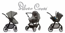 Silver Cross Pioneer Eton Grey Special Edition Pram