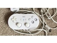 Official Nintendo wii classic controller- hardly used