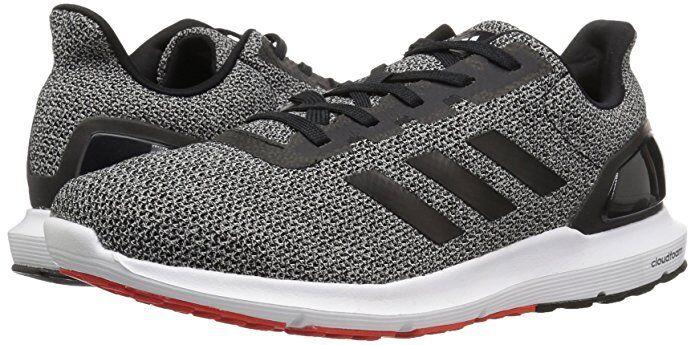 Men Adidas Cosmic 2 Sl M Running Shoe 100% Original CP9483 Black/Black/Core Red