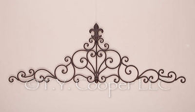 Wrought Iron Metal Wall Grill Grille Door Topper 91957 on Rummage