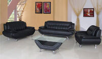 LEATHER sofa set all 4pc $798 limited stock hurry in save big