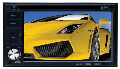 "IN-DASH CAR 6.2"" DOUBLE 2 DIN CAR 7"" TOUCHSCREEN MONITOR DVD/CD/USB PLAYER RADIO"