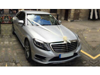 Mercedes Benz S Class Chauffeur Driven Wedding Car Hire, Corporate, Proms, Events, Business CEO