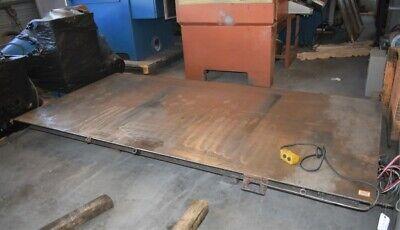 2000 Lb Southworth Backsaver Ls2-36 Hydraulic Scissor Lift Table - 28381