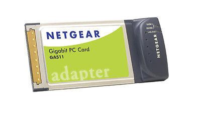 NETGEAR GA511 Gigabit Network Card for Laptop Notebook