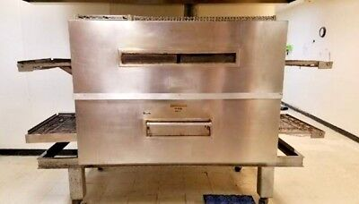 Commercial Mastermaticblodgett Conveyor Oven Pizza Pride Model Mg 32.2 N. Gas