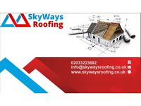 Roofing specialists ( FLAT ROOF, PITCHED, FIBRE GLASS ROOF)
