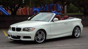 2009 BMW 135I / RED LEATHER / M-PKG / LOW KM!!! GARANTEE!!!!