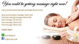 Massage - Hounslow - Ladies only