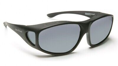 FOSTER GRANT / SOLAR SHIELD POLARISED FITS OVER SUNGLASSES CLASSIC SPORT LARGE