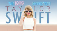 NEW PRICE - TAYLOR SWIFT TICKETS - 1989 WORLD TOUR @ FORD FIELD
