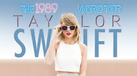 Taylor Swift - 2 E-Tickets - Section 203, Row B- Montreal Show