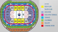 OILERS Tickets with FREE PARkING Section 236 Row 22 ASILE SEATS