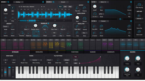 Arturia Pigments 2 Polychrome Synthesizer software download